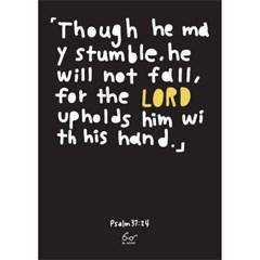 Psalms 37:24 (시편 37편 24절)_black