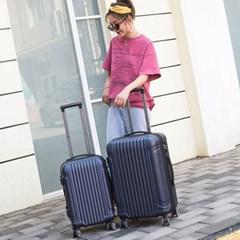하드케이스 여행가방 캐리어 일자무늬 기내용 20호