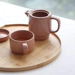 [푸코]도자기 티팟 컵 세트_(1806098)