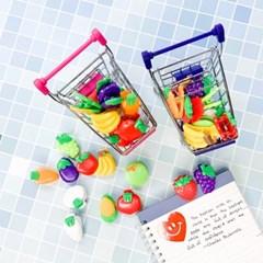 [맙소사잡화점] 과일 채소 집게와 쇼핑 카트