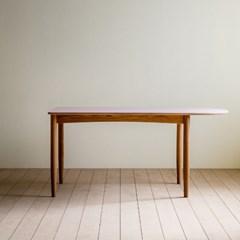 [찰스퍼니처] 린 리놀륨 반타원형 테이블 03_1600