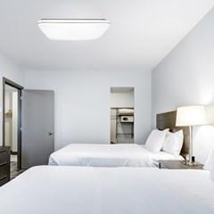 무노 디밍 LED 리모컨 사각 방등 60W