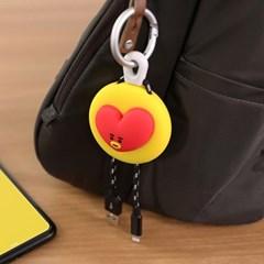 BT21 키링타입 애플인증 케이블 8핀