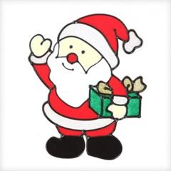 선물산타 글라스스티커 중 20cm 크리스마스 TRMBLS_(1389946)
