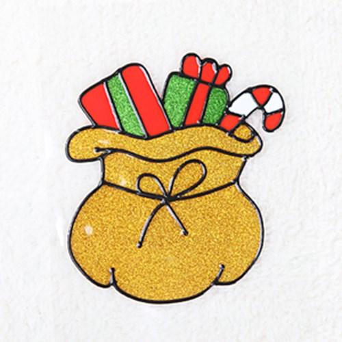 선물주머니 글라스스티커 소 20cm 크리스마스 TRMBLS_(1389943)
