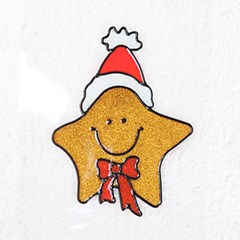 별 글라스스티커 소 20cm 크리스마스 장식 TRMBLS_(1389942)