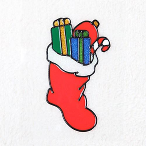 양말 글라스스티커 소 20cm 크리스마스 장식 TRMBLS_(1389941)