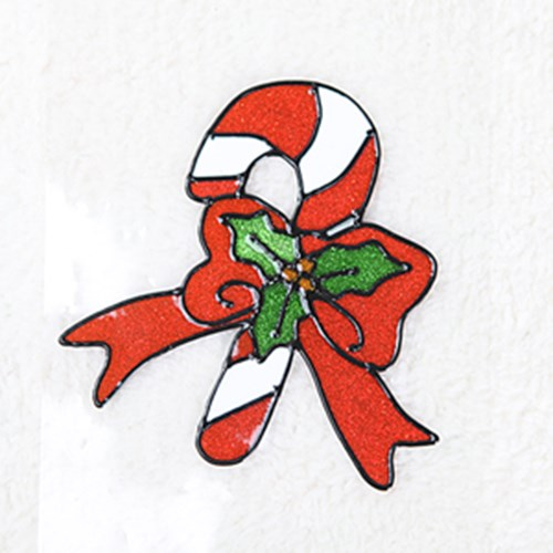 지팡이 글라스스티커 소 20cm 크리스마스 장식 TRMBLS_(1389940)