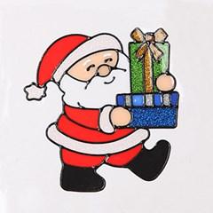 둘선물산타 글라스스티커 중 20cm 크리스마스 TRMBLS_(1389933)