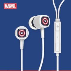 마블 어벤저스 캡틴아메리카 이어폰 통화+음악감상_(2236864)