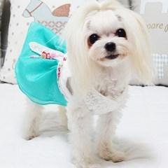양귀비 핸드메이드 강아지한복