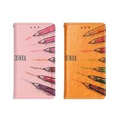 LG X6 2019 (LG X625) Suk-Colorpen 지갑 다이어리 케이스