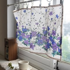 [Fabric] 도라지꽃 린넨 Balloon flower Linen