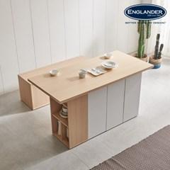 잉글랜더 돌체 아일랜드 4인용 수납 식탁(의자제외)