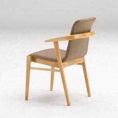 키요 고무나무 원목 식탁 의자 A타입_(1255229)