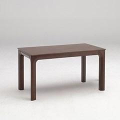 키요 고무나무 원목 식탁 테이블 4인용 1400_(1255159)