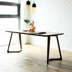 토슨 고무나무 원목 6인 식탁 테이블 1800_(1255156)