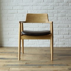 토슨 고무나무 원목 식탁 의자_(1255131)