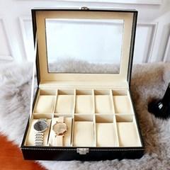 에코가죽 시계 보관함 3사이즈
