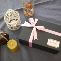 항아리 옹기 캔들+천연 밀랍초 선물세트