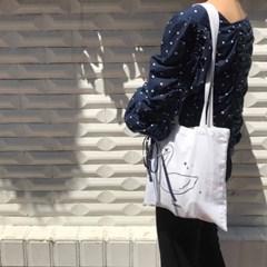 Swan Mini Cotton Bag