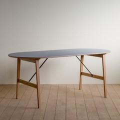 린 리놀륨 타원형 테이블 02_1800
