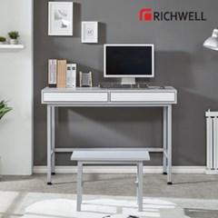 리치웰 엣지 서랍둘 책상 (의자별도)