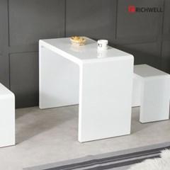 리치웰 하이그로시 멀티일자 식탁 테이블 1000 (의자별도)