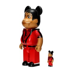 [KINKI ROBOT]400%&100%BEARBRICK MICHAEL JACKSON RED JACKET (1908