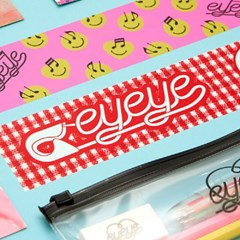 EYEYE GRAHPIC TAPE NO.02_PINK (EEON3GD004W)
