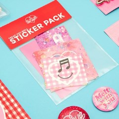 EYEYE STICKER PACK NO.01_PINK (EEON3GD009W)