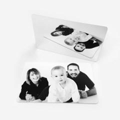 에티켓 미러 매너 거울 카드 지갑 사진 인쇄 인화