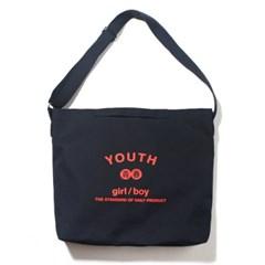 YOUTH 2WAY BAG-NAVY