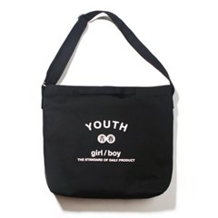 YOUTH 2WAY BAG-BLACK