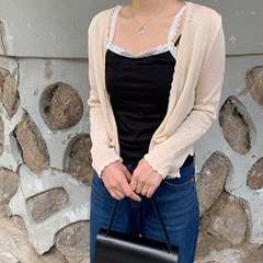 샤르티 sleeveless (3color)