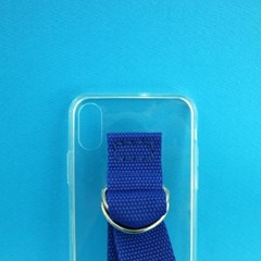 SUN CASE CLEAR BLUE (JELLY CASE)