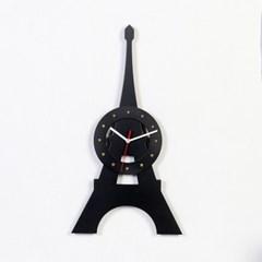 우드 서클  에펠탑 디자인너 시계-2색상