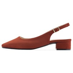 SPUR[스퍼] 슬링백  OF7026 Daily soft slingback 브릭