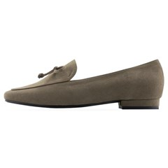 SPUR[스퍼] 로퍼 OF7009 Classic bow loafer 다크베이지