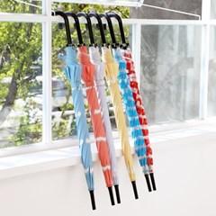 프린트 우산 - 비숑그레이