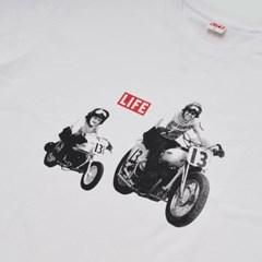 MOTORCYCLE T-SHIRT_WHITE_(1424695)
