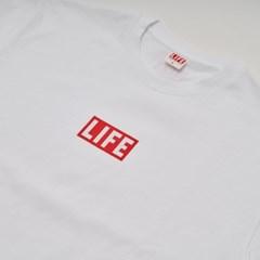LIFE BASIC LOGO T-SHIRT_WHITE_(1424652)