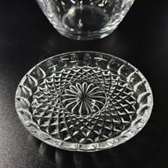 컵받침 뚜껑 크리스탈 17002 단품
