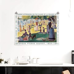 패브릭 포스터 F318 명화 아트 그림 액자 조르주 쇠라 C