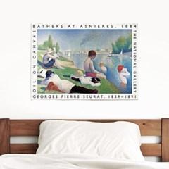 패브릭 포스터 F316 명화 풍경 그림 액자 조르주 쇠라 A