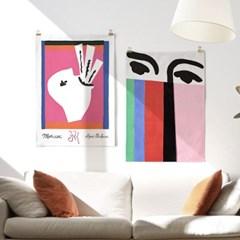 패브릭 포스터 명화 인테리어 그림 액자 앙리 마티스 14