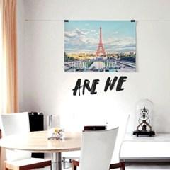 패브릭 포스터 F281 에펠탑 여행 사진 액자 파리 동화