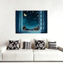 패브릭 포스터 F311 풍경 그림 천 액자 나이트 스카이