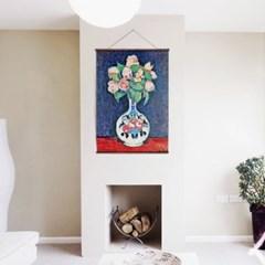 패브릭 포스터 F308 식물 꽃 그림 유화 액자 Still Life
