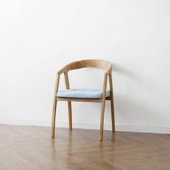 [오크] D형 의자 스카이블루_(1364945)
